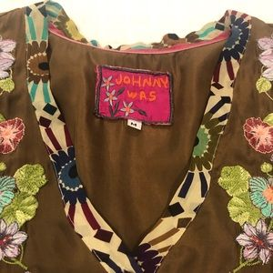 Johnny Was tunic top size M NWO tags
